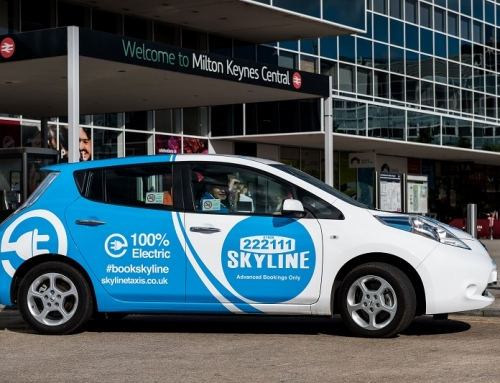 Skyline Taxis – Turning Over a New Leaf for Milton Keynes